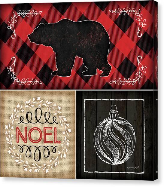 Plaid Canvas Print - Plaid Christmas II by Jennifer Pugh
