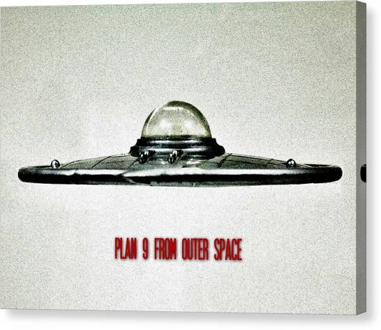 E.t Canvas Print - Plan 9 From Outer Space by Benjamin Yeager