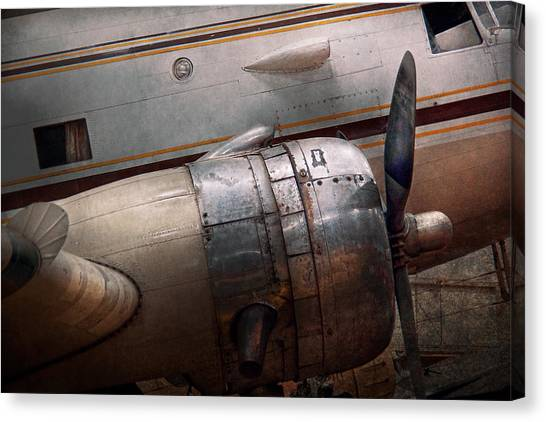 Air Force Canvas Print - Plane - A Little Rough Around The Edges by Mike Savad