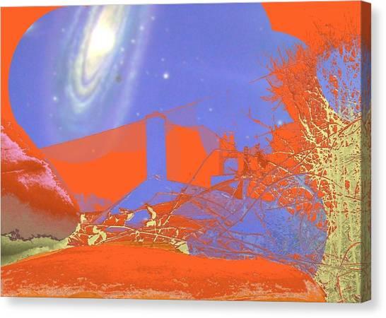 Planet Chuck Canvas Print