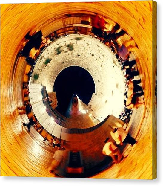 Tornadoes Canvas Print - #planet #hole #cotel #kotel #wall by Eli Portman