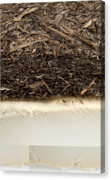 Matting Canvas Print - Plant-based Insulating Materials by Science Photo Library
