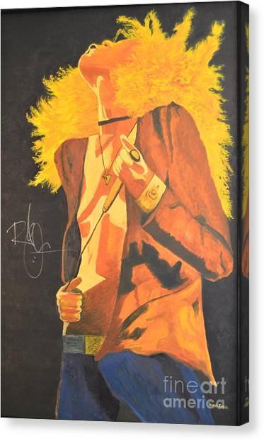 Led Zeppelin Artwork Canvas Print - Plant II by Stuart Engel