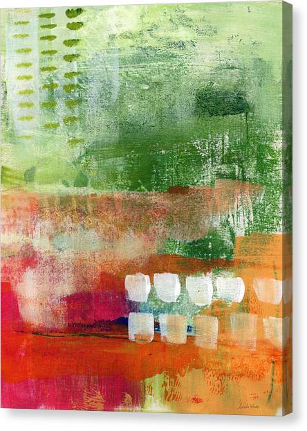 Magenta Canvas Print - Plantation- Abstract Art by Linda Woods