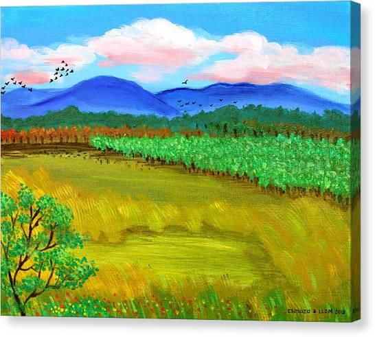 Plantation Canvas Print