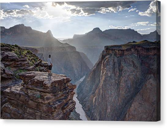 Plateau Point - Grand Canyon Canvas Print