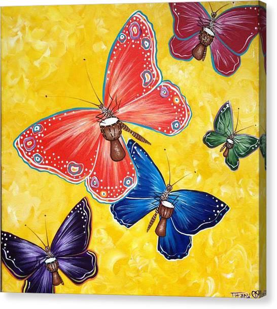 Djembe Canvas Print - Play by Tiffany Aldridge