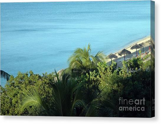 Playa Ancon Trinidad Canvas Print