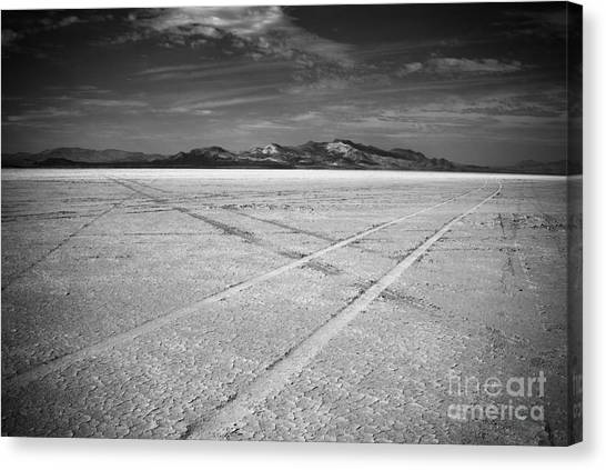 Black Rock Desert Canvas Print - Playa by Greg Ahrens