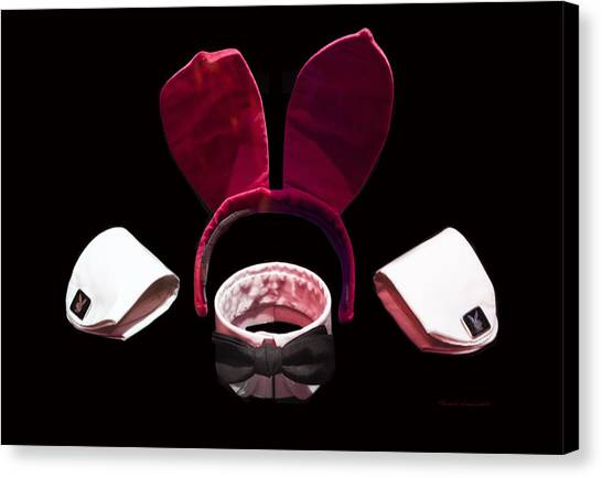 Playboy Bunny Costume Accessories Canvas Print