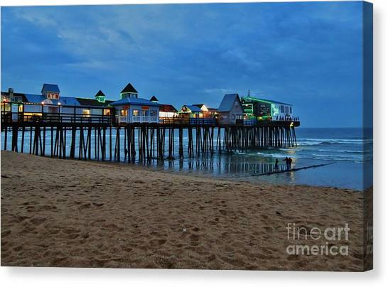 Playful Pier Canvas Print