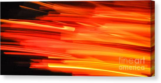 Playing With Fire 17 Canvas Print