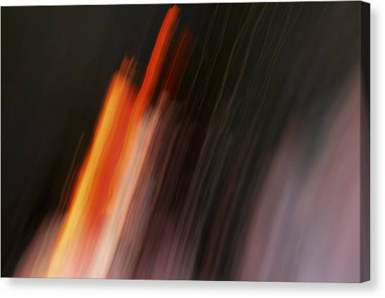 Playing With Fire Canvas Print by Steve Belovarich