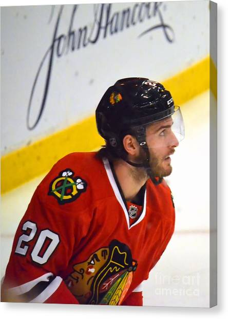 Playoff Saad Canvas Print