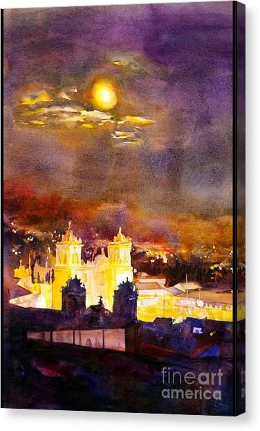 Plaza De Armas- Cusco Canvas Print