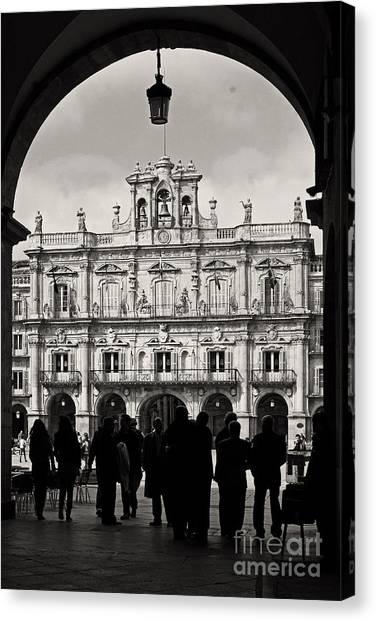 Plaza Mayor Salamanca Canvas Print