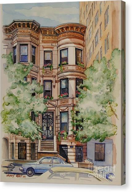Plaza Street West 1994 Canvas Print