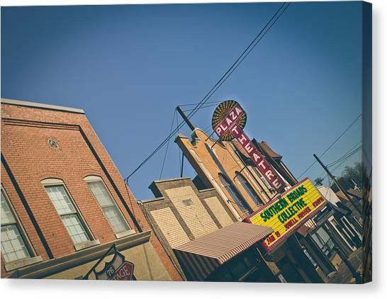 Plaza Theatre Canvas Print