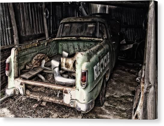 Please Canvas Print by John Monteath