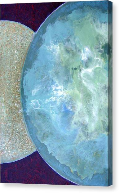 Pleiades Meditation Canvas Print by Carolyn Goodridge