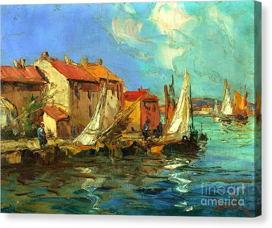 Artist Michael Swanson Canvas Print - Plein Air One by Michael Swanson