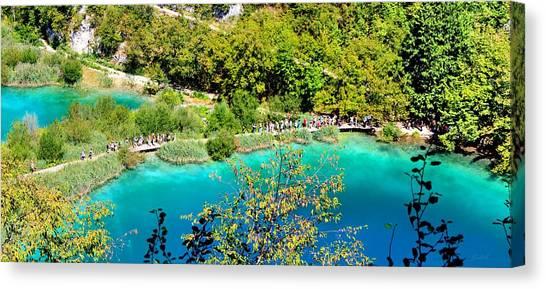 Plitvice Lakes Croatia Canvas Print