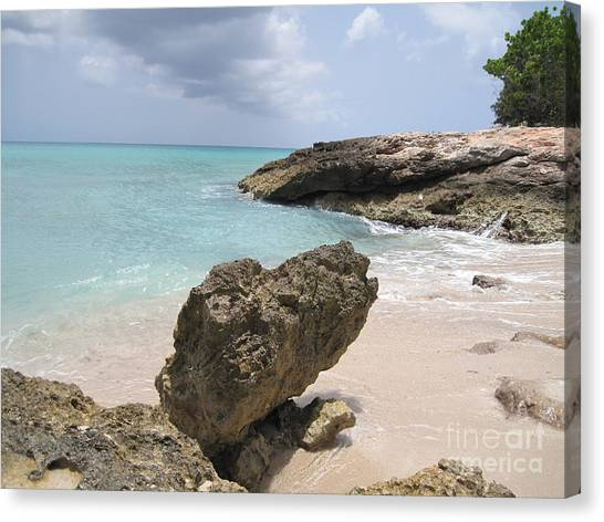 Plum Bay - St. Martin Canvas Print