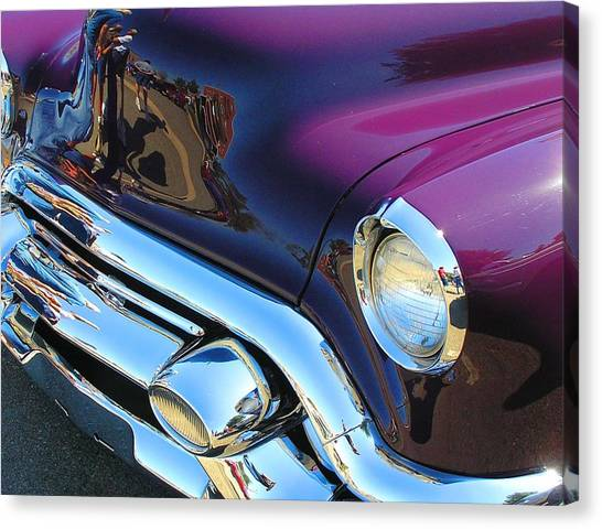 Plum Beautiful Canvas Print