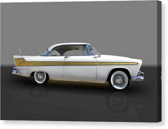 1956 Plymouth Fury Canvas Print
