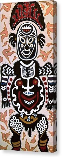 Papua New Guinea Manggi Canvas Print