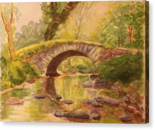 Pocantico River Ny Canvas Print