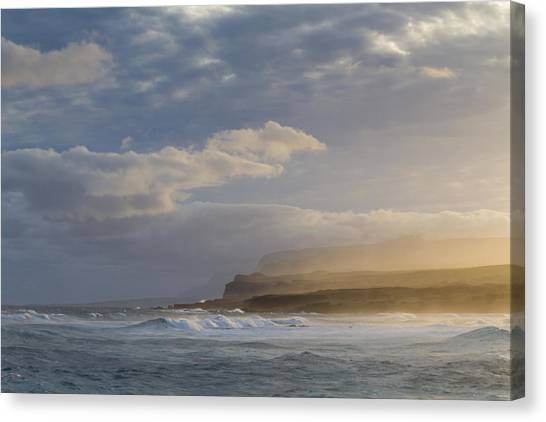 Kalaupapa Cliffs Canvas Print - Poetry In Motion by Marzena Grabczynska Lorenc