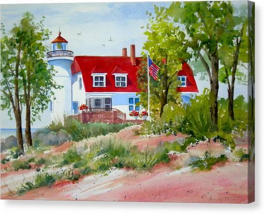 Point Betsie Canvas Print