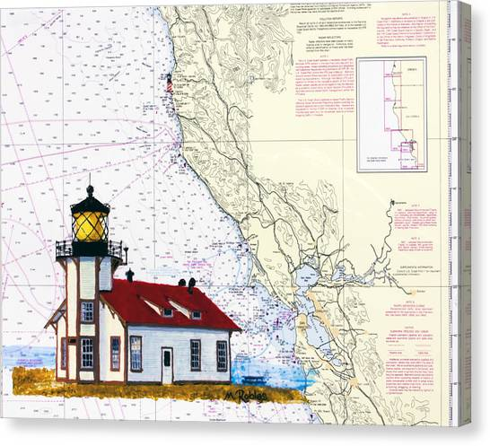 Point Cabrillo Light Station Canvas Print