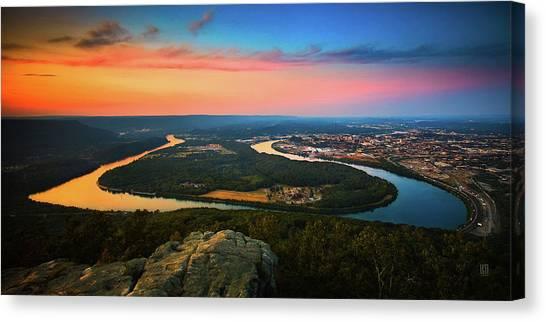 Point Park Overlook Canvas Print