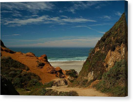 Point Reyes - North Shore Canvas Print