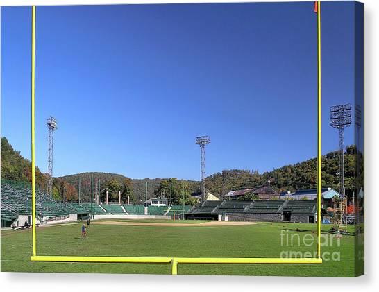 Point Stadium - Johnstown Canvas Print