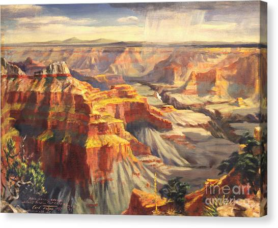 Point Sublime - Grand Canyon Az. Canvas Print