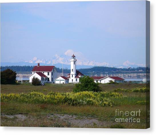 Point Wilson Light Canvas Print