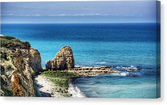 Pointe Du Hoc Canvas Print