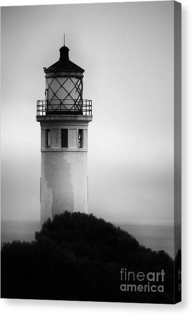 Pointe Vincente Lighthouse Canvas Print