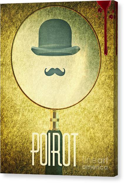 Poirot Canvas Print