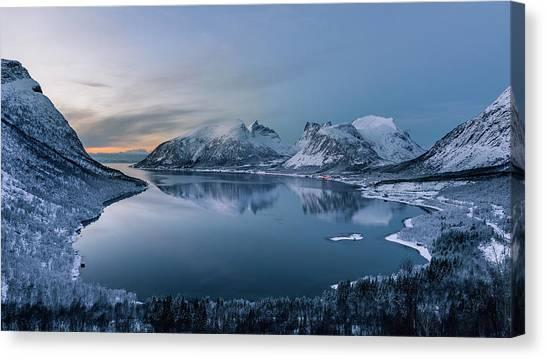 Winter Canvas Print - Polar Night by Tomasz Wozniak