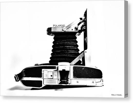 Canvas Print featuring the photograph Polaroid Land Camera 95b 2 by Kelly Hazel