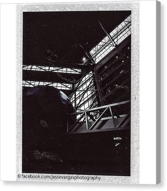 Georgia Canvas Print - #polaroid Taken At The #cnn by Jesse Vargas