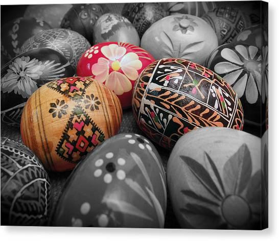 Polish Eggs Canvas Print