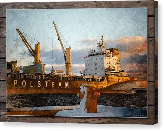 Polsteam Canvas Print