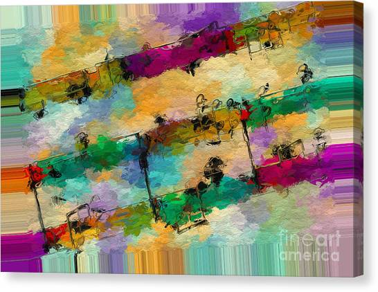 Polychromatic Postlude 11 Canvas Print