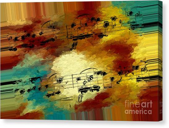 Polychromatic Postlude 3 Canvas Print