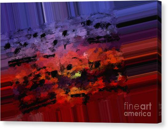 Polychromatic Postlude 4 Canvas Print
